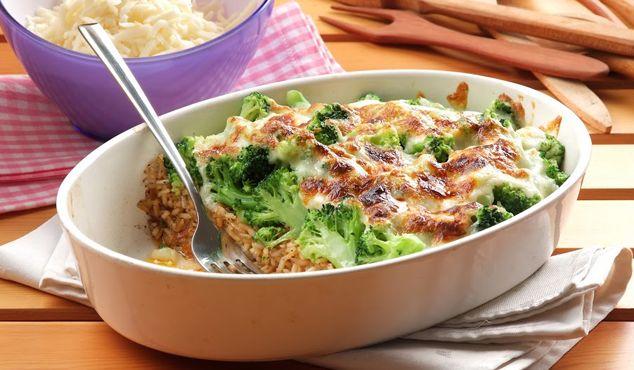 Musaca de broccoli fără carne #rețete #vapeur