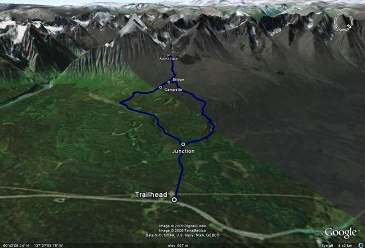 Auriol Trail | Hiking, skiing, and snowshoeing trails in the Yukon | yukonhiking.ca