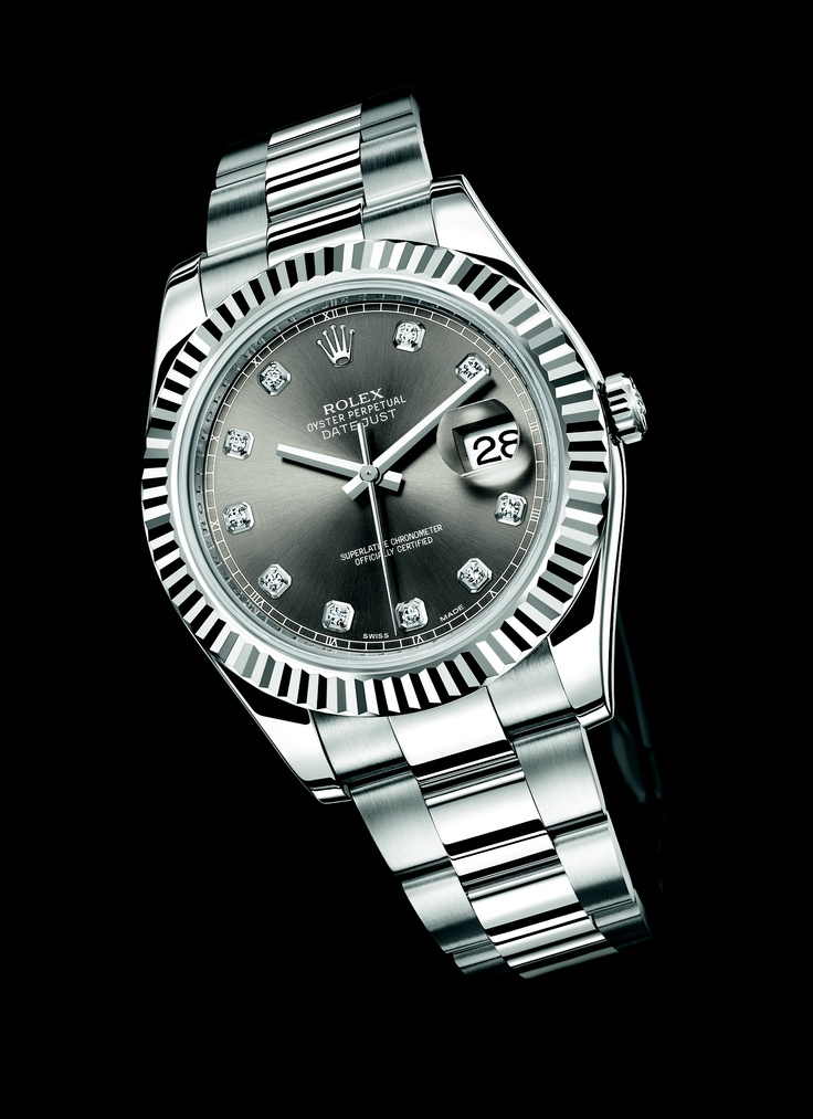 #Rolex of the week: Oyster Perpetual Datejust II - White Rolesor @ www.everest1950.com, official Rolex retailer @Everest1950
