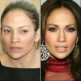 Image result for celebrities without blush
