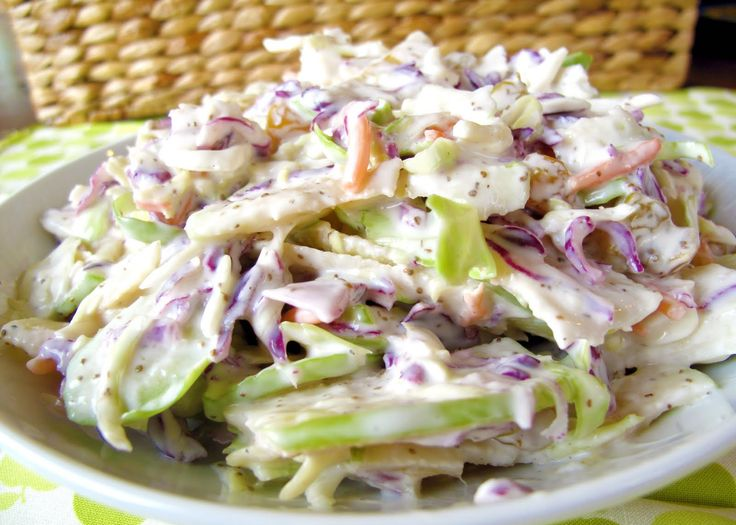 PALEO APPLE COLESLAW RECIPE