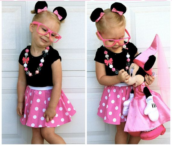 Minnie Mouse outfit  Disney Outfit  Pink by FrederickFancies