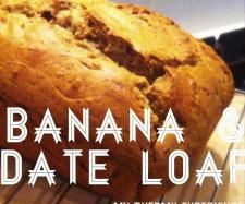 Recipe Clone of Quick & Easy Banana Date Loaf by athompson - Recipe of category Baking - sweet
