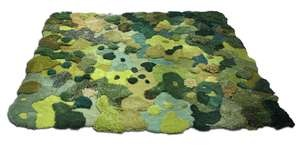 """""""pastoral rug""""  I would trip on this."""