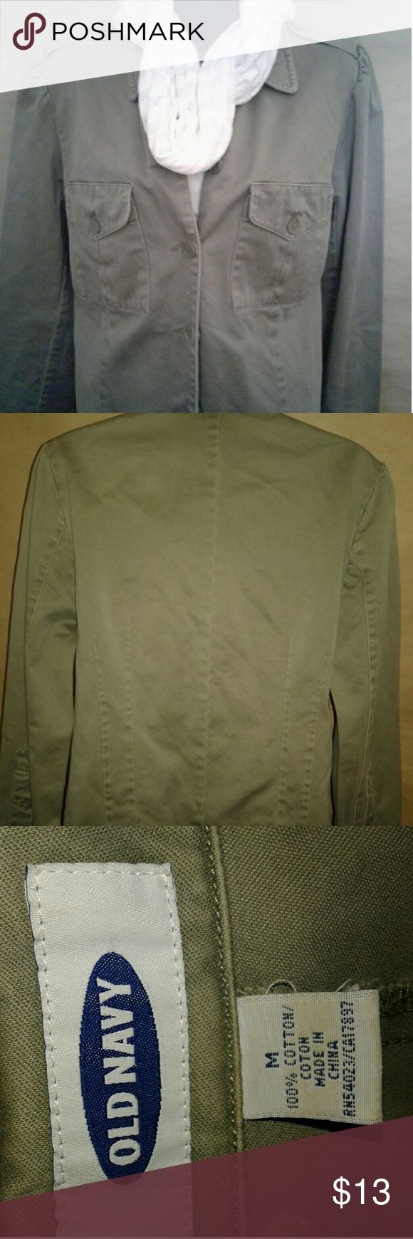 Ladies Olive Green Blazer Ladies Old Navy Olive Green Blazer.... gently used no stains or tears on it... Old Navy Jackets & Coats Blazers