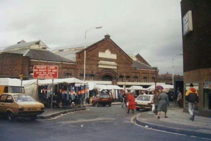 Old Wigan market
