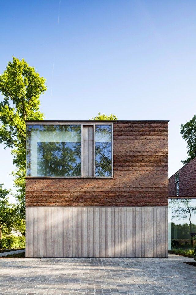 Architecte Sofie Ooms ontwierp voor haar zus Dorien een rustgevende thuis in het…