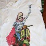 Skelator on Vespy by Thomas Howes. See more of the tee here: http://nobodyspeople.com/product/skelator-on-vespy/