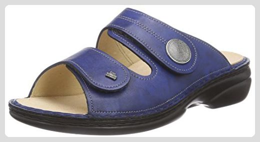 Finn Comfort Sansibar, Damen Offene Sandalen, Blau (Blau), 39 EU - Sandalen für frauen (*Partner-Link)