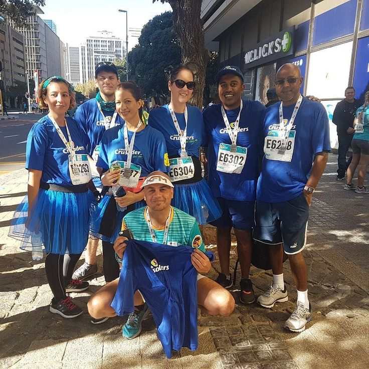 The team after the FNB #CT12run 2017!