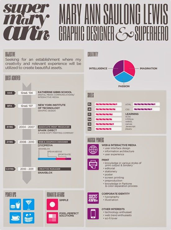 22 best Resume Designs images on Pinterest Creative resume - graphic design resume