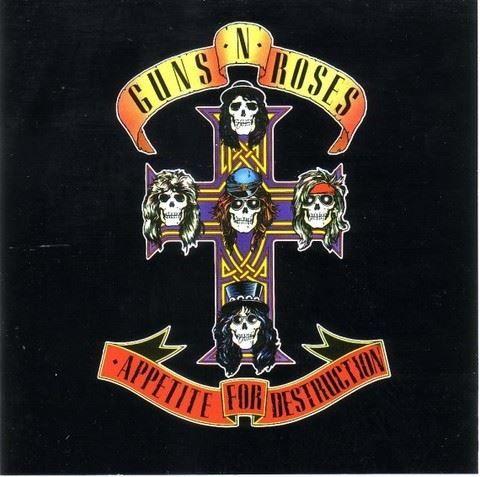 Guns N' Roses - Appetite for Destruction #cover #music
