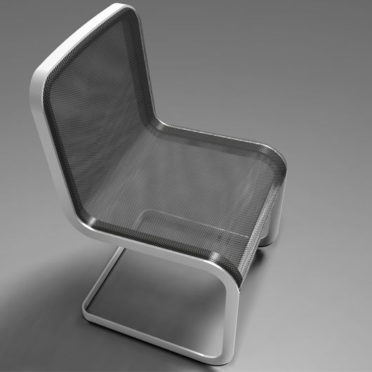 Alta Chair for CB2 by Manuel Saez & Partners