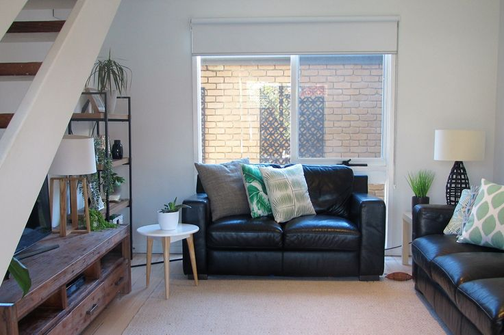 Everything in its Place - Staged living room for sale.