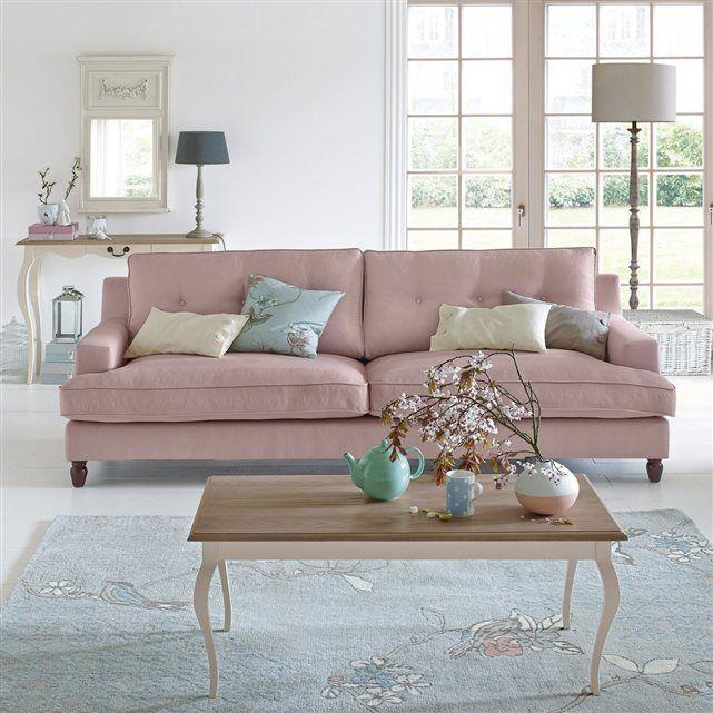 Canap 2 ou 3 places fixe coton rina style l gance et confort au rendez - Ou vendre son canape ...