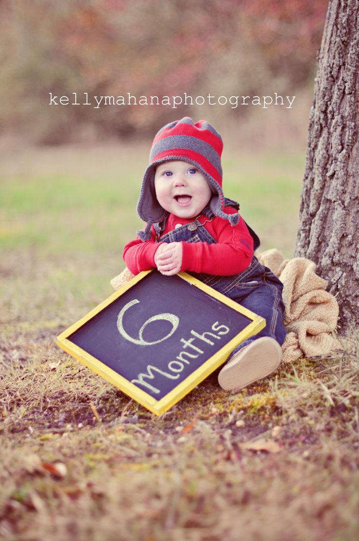 Kelly Mahana Photography 6 month portrait Boy
