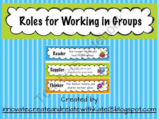 role responsibilities and strategies on team groups As described in working in groups by engleberg and wynn, team role theory is when members assume roles that are compatible with strategies for generating social.