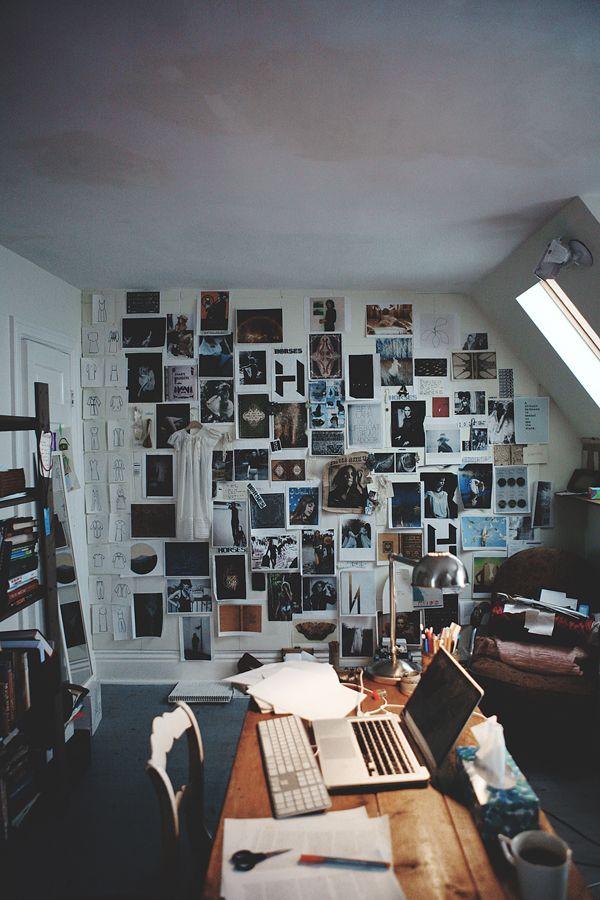 Mood Board at the Horses Atelier studio   Block Print Social
