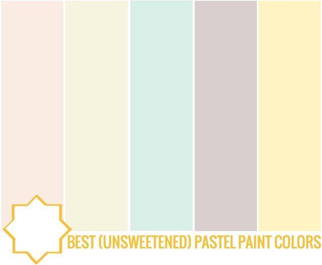 Pastel Interior Paint Colors Pastel Wall Paint Mint