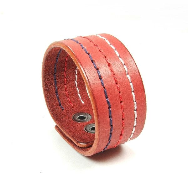 Hirno - bransoletka skórzana - -Jagna- - Biżuteria męska