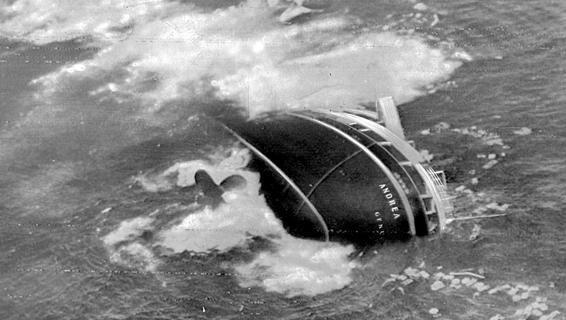 Ricorre l'anniversario dell'affondamento del transatlantico italiano. Grazie all'equipaggio tutti i sopravvissuti allo speronamento da parte della Stockholm furono salvati