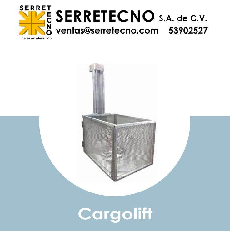 En Serretecno contamos con el sistema Cargolift, modelo apropiado para cargas ligeras (no pasajeros) y dimensiones reducidas.