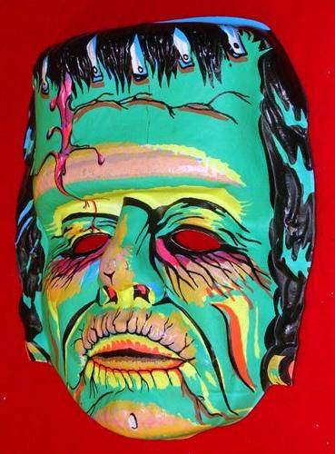 Frankenstein mask - vintage