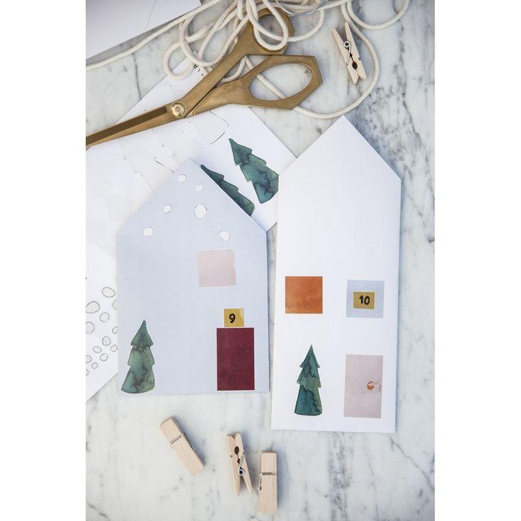 Χρισστουγεννιάτικο ημερολόγιο Fabelab - Νεραϊδούπολη