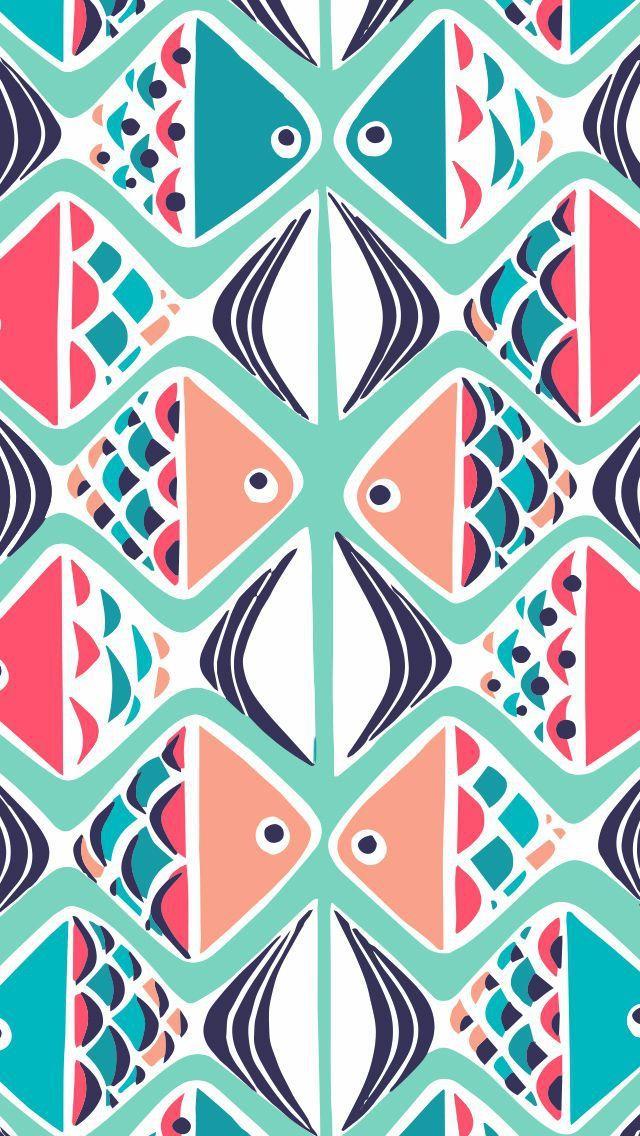 Go Fish Mobile Wallpaper