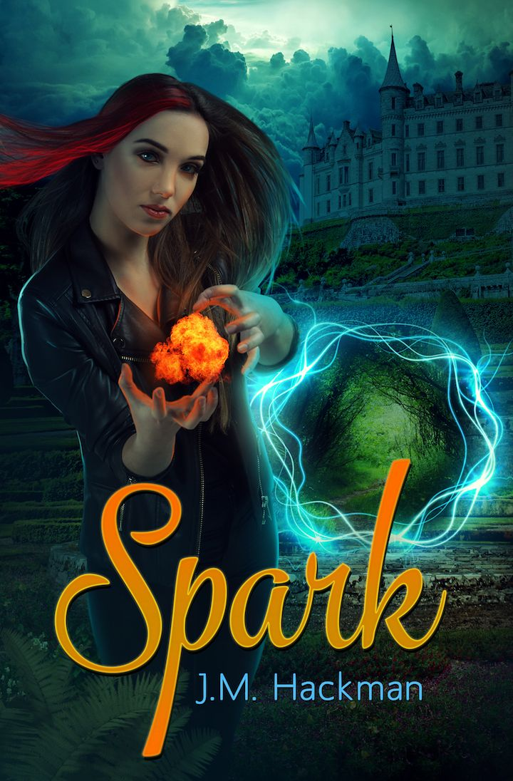 Spark, Book 1 of The Firebrand Chronicles. A clean YA