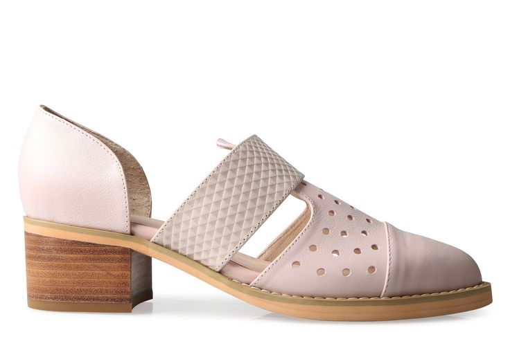 Shoe Connection - Oli - Grove pale pink cut-out loafer. $199.99 https://www.shoeconnection.co.nz/womens/shoes/loafers/oli-grove-cut-out-loafer?c=Pale%20Pink