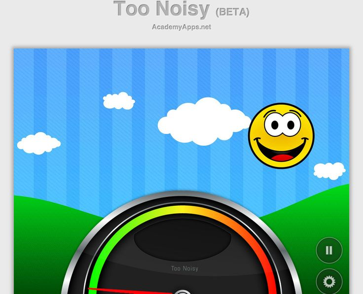 Free Technology for Teachers: Too Noisy - Give Your Students Visual Feedback on Noise in Your Classroom
