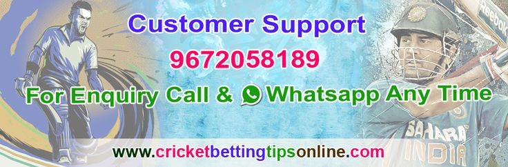 Get Free Cricket Betting Tips, Free IPL Betting Tips 2017, Cricket betting tips free, IPL betting tips, Free IPL betting tips, IPL 2017 betting tips etc.For   more Information please call or whatsapp on  9672058189,766557390 or visit Website : http://cricketbettingtipsonline.com.
