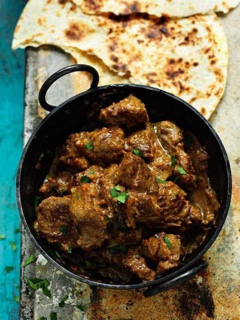 Mr Singh's Lamb Curry from Rick Stein's India, food photography by by London based photographer James Murphy Photography.