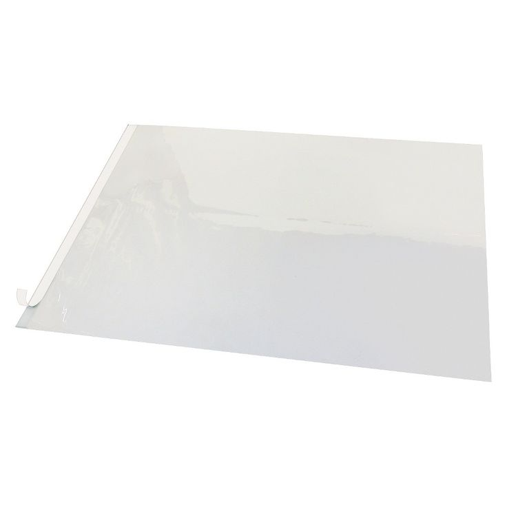 Artistic Second Sight Clear Plastic Desk Protector, 40 x 25, White