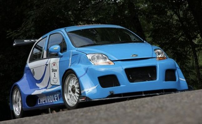 Chevy Spark powered by a 7.0-liter Corvette V8