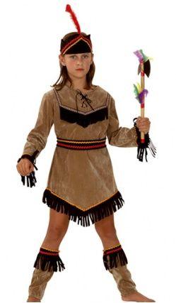 Deguisement ''Indienne''  Pour Fille