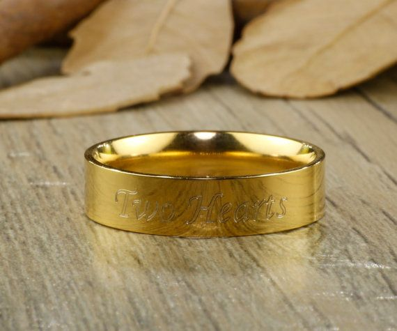 Personalize PROMISE RING , Gold Titanium Rings #jewelry #ring @EtsyMktgTool http://etsy.me/2bPNFMy