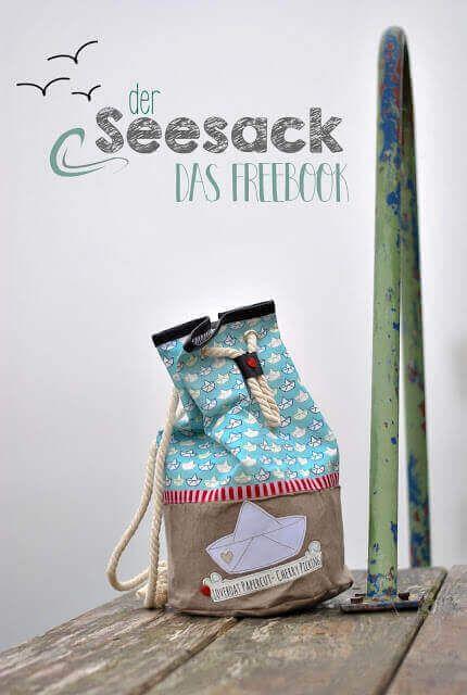 gratis schnittmuster Seesack