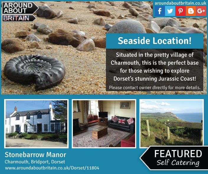 Stonebarrow Manor, Charmouth, Bridport, Dorset, England. Self Catering. Holiday. Travel. #AroundAboutBritain. Day Out. Explore UK. Family Holiday. Break. Relax. Adventure. Jurassic Coast.