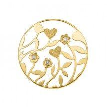 My Imenso 33 mm insignia www.silverwolfjewellery.com.au yellow flowers