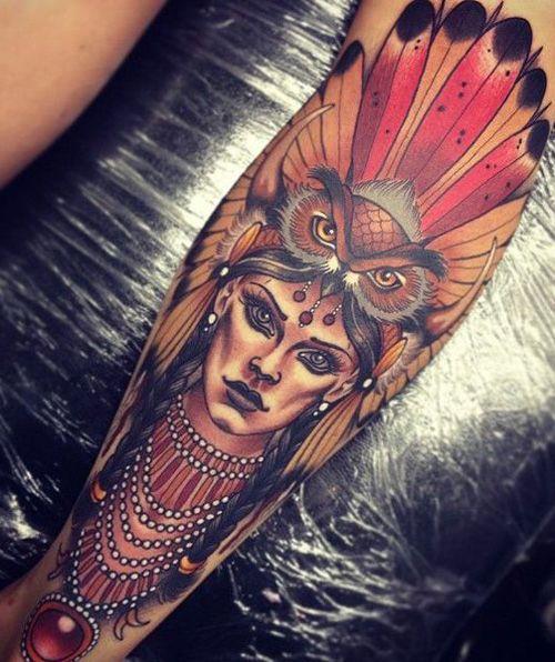 My Owl Barn: 10 Beautiful Owl Tattoos