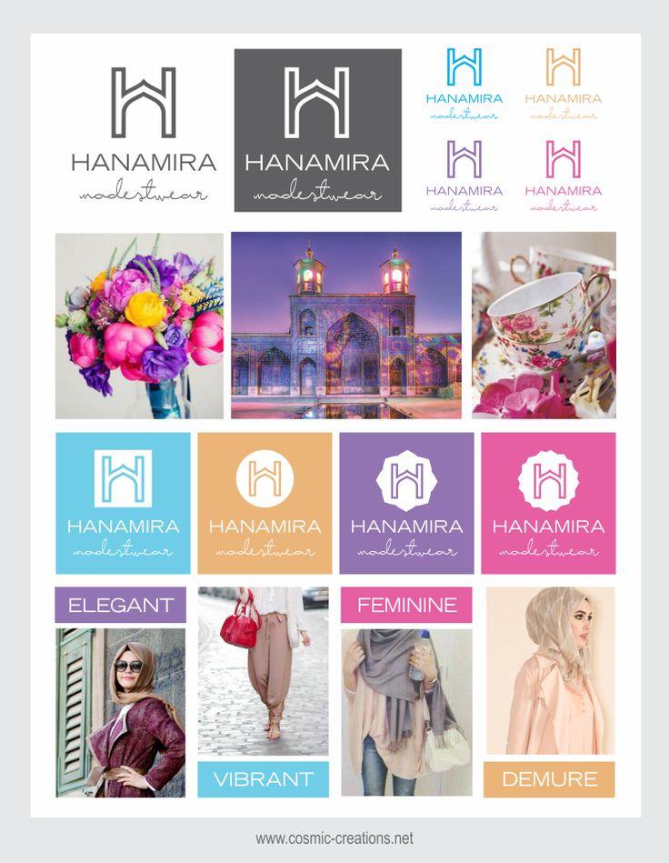 Cosmic Creations Freelance Design Lab: Hanamira Branding