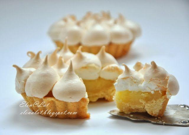 Sweet and not Sweet: Лимонные тарталетки с безе