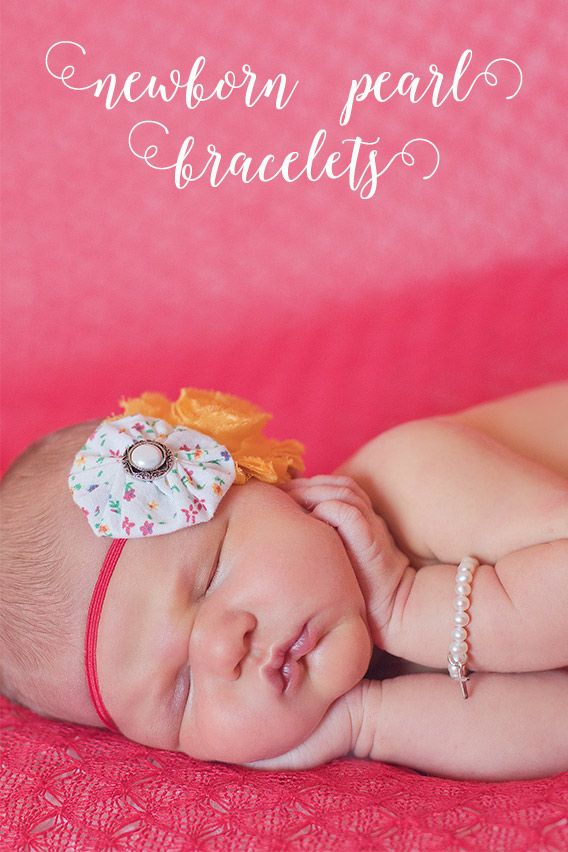 419 best baptism christening gifts and traditions for baby girls beautiful real pearl bracelets with a grow with me chain for your baby girl negle Image collections