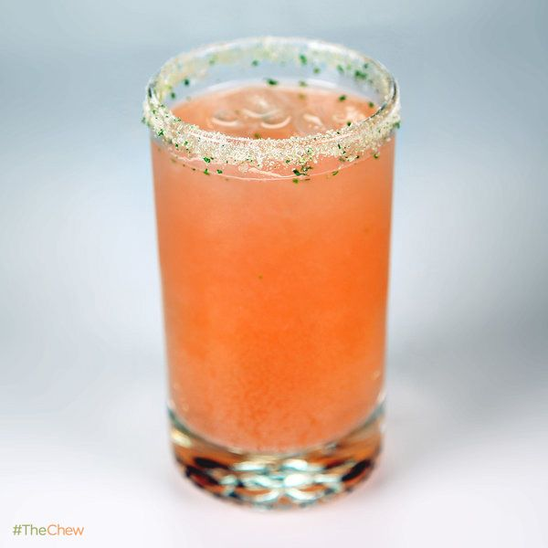 Strawberry Basil Soda by Carla Hall! #TheChew #Mocktail