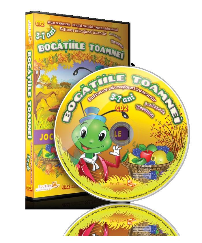 CD2: Bogăţiile toamnei.