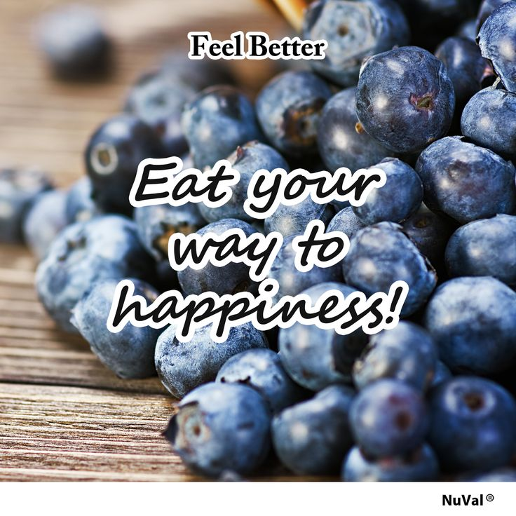 Did you know that blueberries (NuVal 100) – full of phytonutrients (plant nutrients), powerful stress-reducing antioxidants and vitamin C – can relieve anxiety? www.nuval.com
