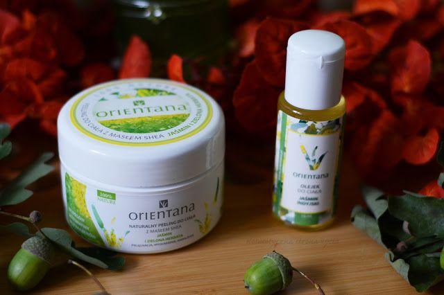 Orientana naturalny peeling do ciała jaśmin i zielona herbata, olejek do ciała…