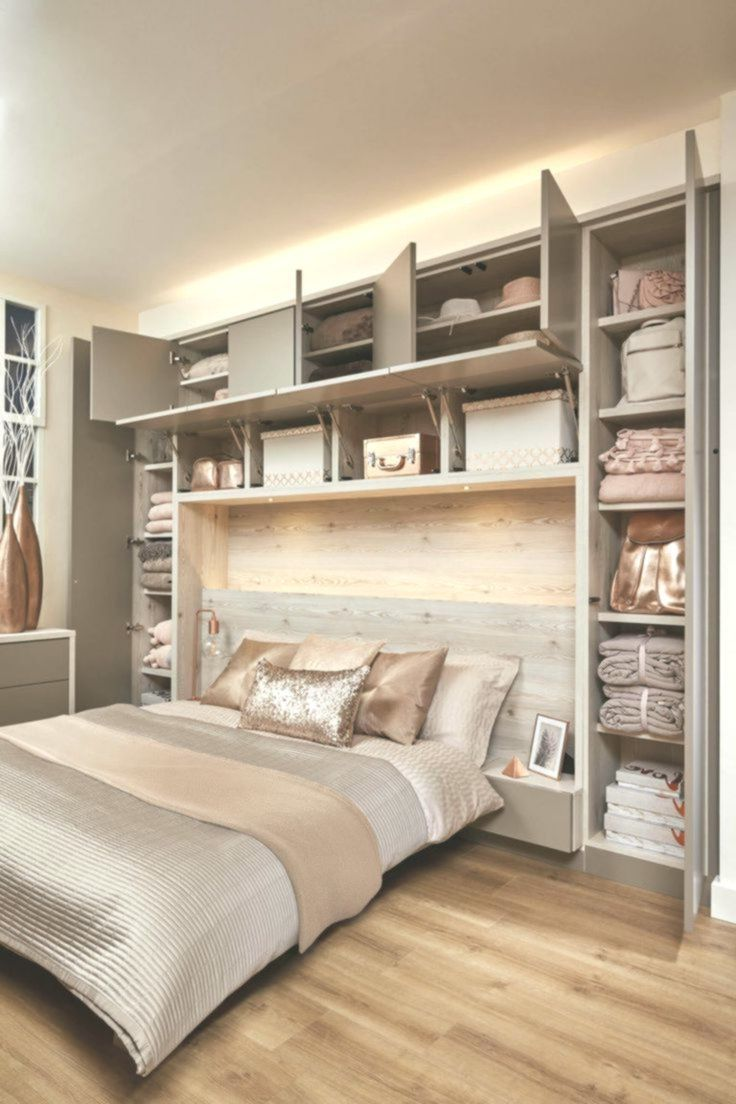 A Over The Bed Built In Wardrobe And Storage Bedroom Storage Wardrobe Bed Bedroom Interior